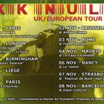 KK NULL UK/European Tour in Oct.-Nov. 2012