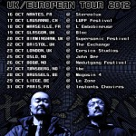 ZENI GEVA UK/European Tour in October 2012