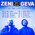 ZENI GEVA live in Vietnam & Thailand | Jul. 27 – Aug. 1
