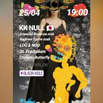 KK NULL is going to play @ Black Hole in Nizhny Novgorod, Russia | Apr. 25