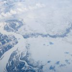 Siberia, views from airplane window