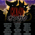 Kaiju vs Modular presents: KAIJU Ongaku @ KGR(n) | Oct. 28